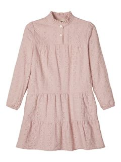 Lil` Atelier Grace Ls Dress Pale Mauve