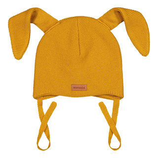 Metsola AW19 Knitted Bunny Beanie Sweet Honey