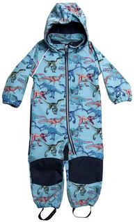 Name It Nmmalfa Softshell Suit Dino Nile Blue