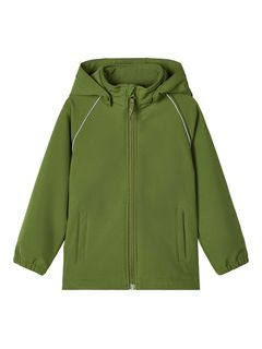 Name It Nmmalfa Softshell Jacket Magic 2Fo Camp Pesto