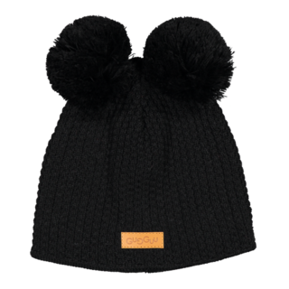 Gugguu AW18 Double Tuft Hat Black