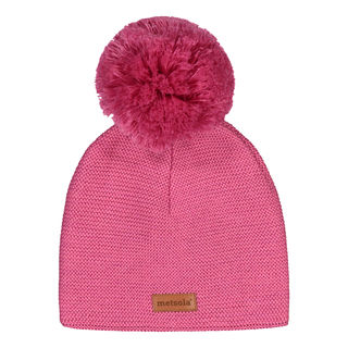 Metsola AW19 Knitted Classic Beanie Wild Rose