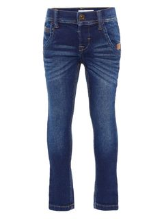 Name It Nmmrobin Dnmtax Pant Noos Dark Blue Denim Farkut
