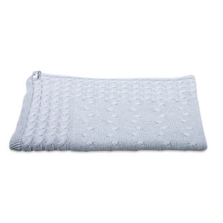 Baby's Only Cot Blanket - Grey