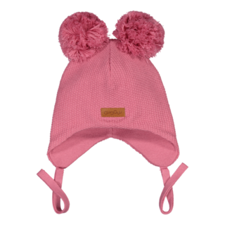 Gugguu SS19 Baby Double Tuft Beanie Pink Rose
