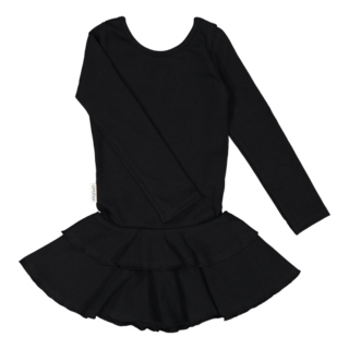 Gugguu AW18 Frilla Dress Black