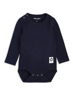 Mini Rodini SS19 Basic LS Body Navy