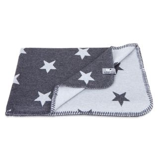 Baby's Only Baby Crib Blanket Star Anthracite/Grey - Torkkupeitto