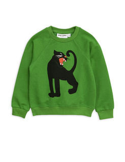 Mini Rodini SS19 Panther SP Sweatshirt Green