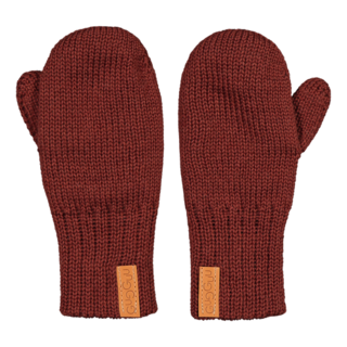 Gugguu AW19 Mittens Bark Brown