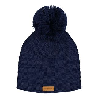 Metsola AW17 Knitted Beanie Navy -Merinovillapipo