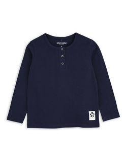 Mini Rodini SS18 Basic Grandpa Navy