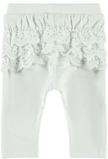 Name It Nbfherle Legging Bright White