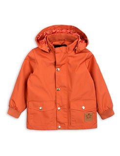 Mini Rodini SS18 Pico Jacket Orange - Takki