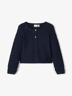 Name It Nbmbatruebo Bombertakki Dark Blue Denim | Noomi Store