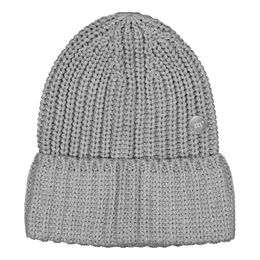 Metsola SS20 Cotton Knitted Jumbo Beanie Grey Melange
