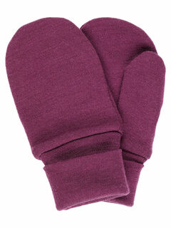 Name It Nmfwillit Wool Mittens Prune Purple