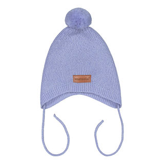 Metsola AW19 Knitted Baby Mini Hat Cool Blue