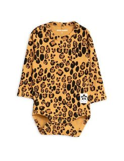 Mini Rodini AW19 Basic Leopard Ls Body Beige