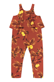 Kaiko SS20 Oasis Jumpsuit Amber Orange