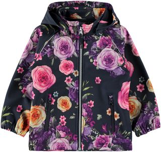 Name It Nmfalfa Jacket Romantic Flower Dark Sapphire