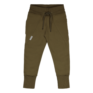 Gugguu Slim Baggy Collegehousut, Olive Green