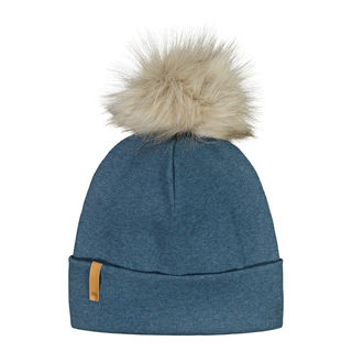 Metsola AW20 RIB Beanie With Fur Pipo Cosmos