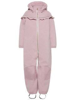 Name It Nmfalfa Softshell Suit Frill Dawn Pink
