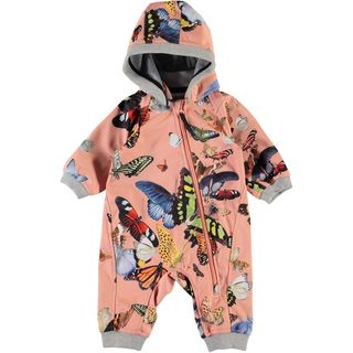 Molo Kids SS20 Hill Softshell Suit Flying Butterflies