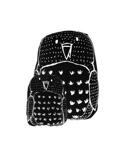AARREKID Big Owl Pillow Black