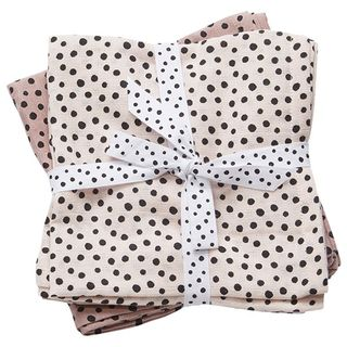 Done by Deer Burp Cloth Happy Dots Powder