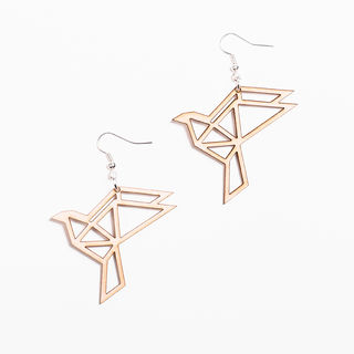 Yo Zen Dove Earrings Birch