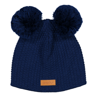 Gugguu AW18 Double Tuft Hat Night Blue