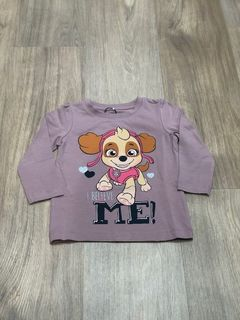 Name It Nmfpawpatrol Hannah LS Top Lic Deauville Mauve