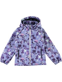 Name It Nkfalfa Softshell Jkt Flower - Flint Stone