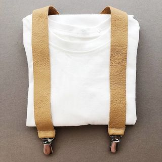 For Minis And Mommies Suspenders Light Brown
