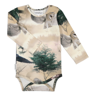 Gugguu AW19 Print Body Night Forest