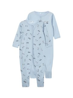 Name It Nbmnightsuit 2Set Casmere Blue Noos