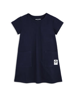 Mini Rodini SS18 Basic Dress Navy