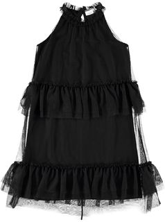 Name It Nkfsabella Tulle Midi Spencer Black