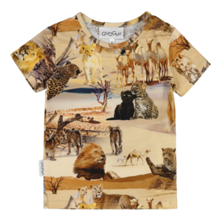 Gugguu SS20 Print T-Shirt Safari Ride
