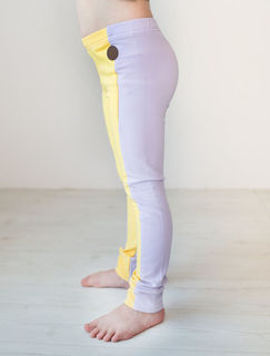Blaa SS20 Sintra College Leggings Yellow Lilac