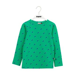 Papu SS20 Fold Shirt Kid Drum Stick Loud Green