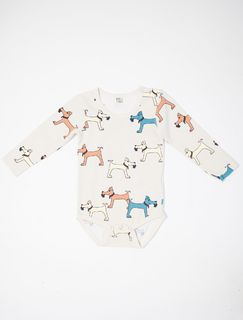 Blaa AW18 KIEW Body LS Terrier Blue