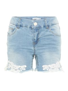 Name It Nkfsalli Dnmbatira 2183 Shorts Medium Blue Denim