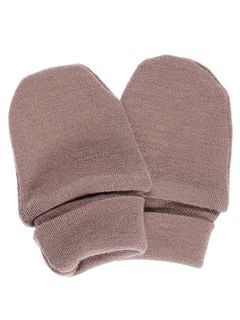 Name It Nitwillitbu Wool Mittens Wo/Thumb Nb Woodrose
