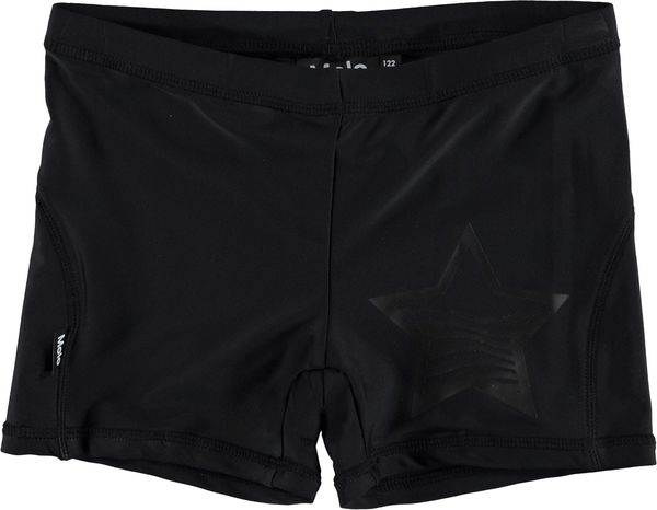 Molo Kids AW19 Norton Solid Very Black Swim Trunks