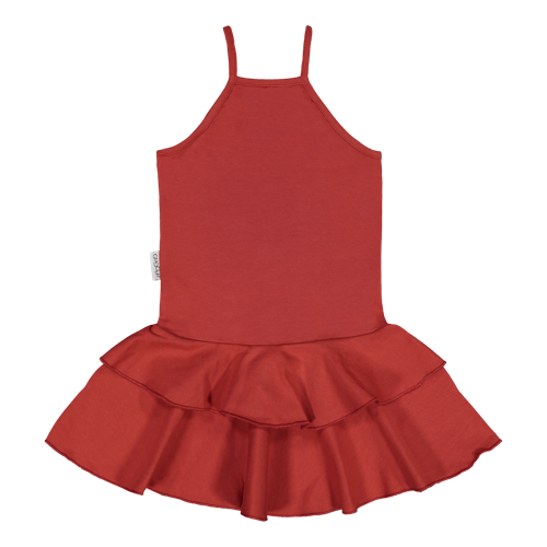 Gugguu SS20 Spaget Dress Spicy Red