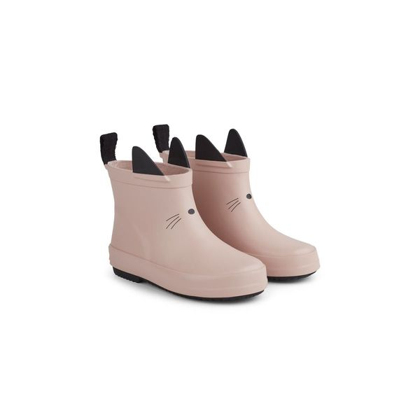 Liewood Tobi Rain Boot Cat Rose