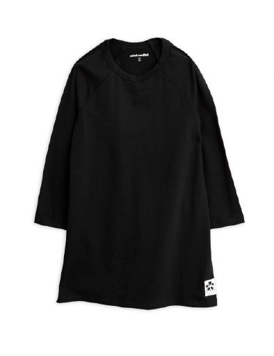 Mini Rodini Basic Ls Dress Black